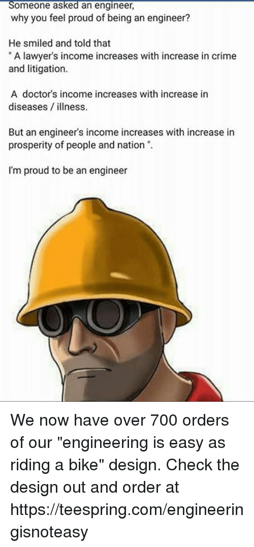 4d546f332fc10 Someone Asked an Engineer Why You Feel Proud of Being an Engineer ...