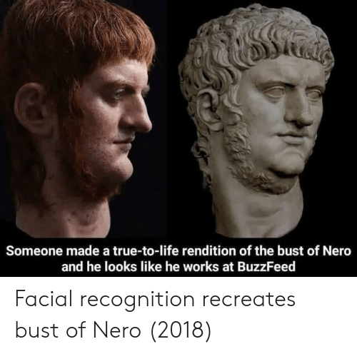 Someone Made a True-To-Life Rendition of the Bust of Nero