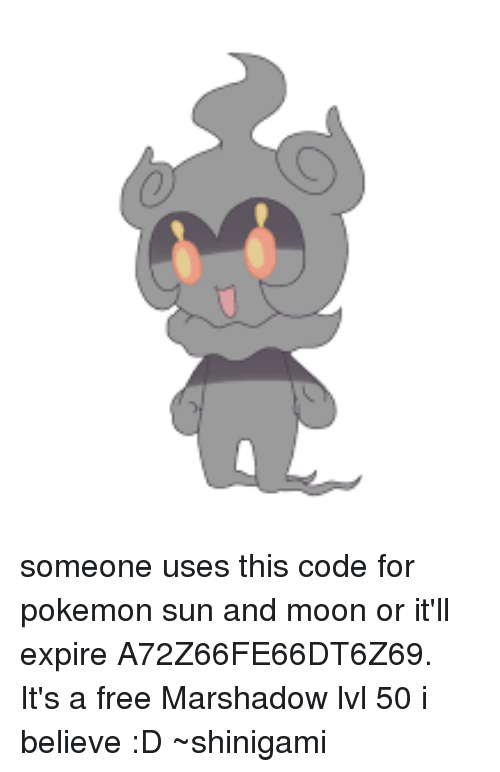 someone uses this code for pokemon sun and moon or it ll expire
