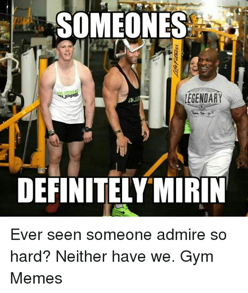 Bodybuilder hookup meme about bitches being friends