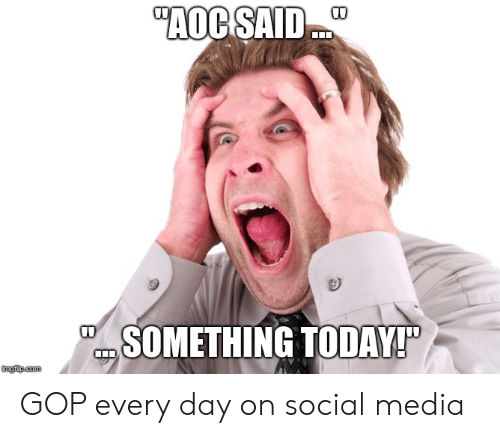 Politics, Social Media, and Today: SOMETHING TODAY!  mgfip com GOP every day on social media