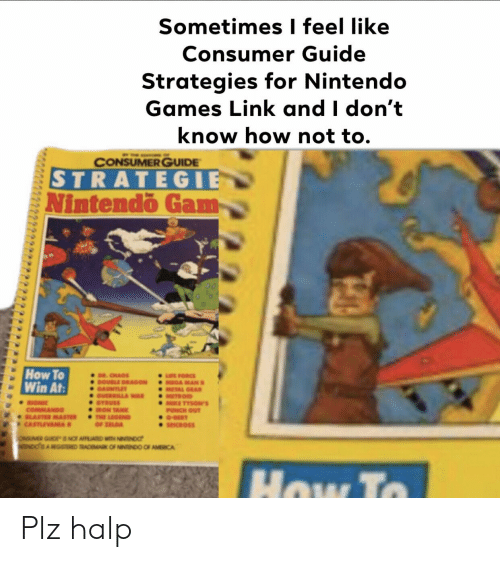 Sometimes I Feel Like Consumer Guide Strategies for Nintendo