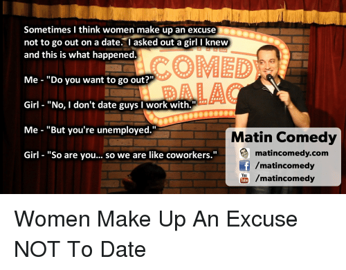 Best Excuses To Get Out Of A Date