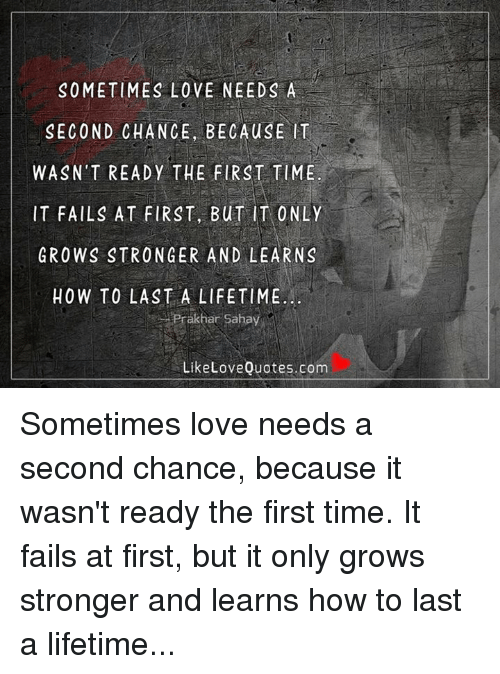 give me a chance love quotes
