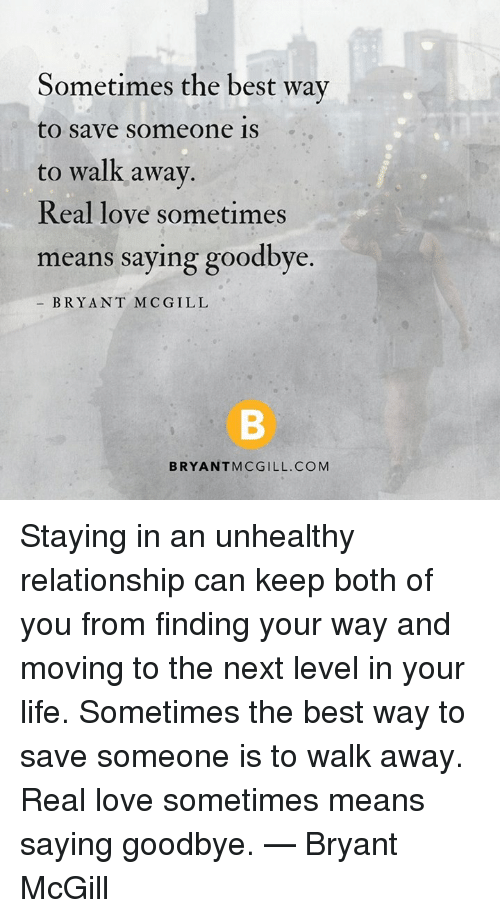 The best way to move on from a relationship