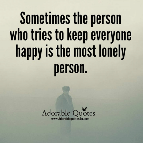 Happy Lonely Quotes: 25+ Best Memes About Happy