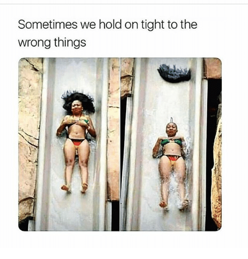 Memes, 🤖, and Hold: Sometimes we hold on tight to the  wrong things