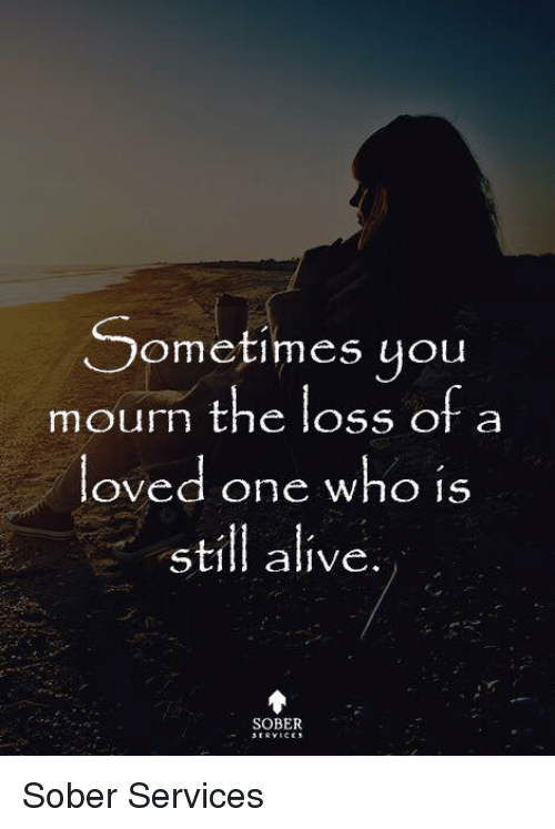 loss of a loved one