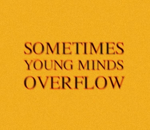 Sometimes, Young, and Minds: SOMETIMES  YOUNG MINDS  OVERFLOW