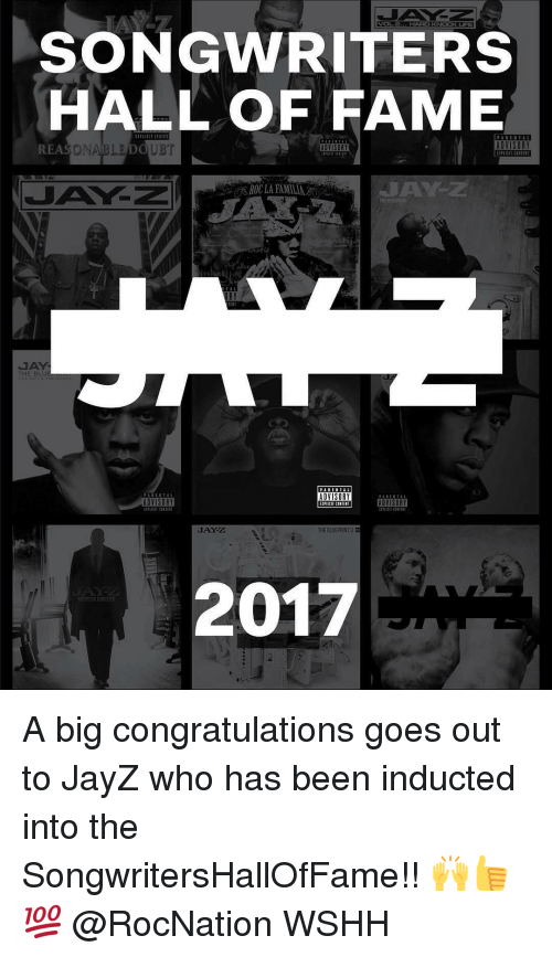 Songwriters hall of fame advisory reasonable doubt advisory ta jay z memes and songwriters hall of fame advisory reasonable doubt advisory malvernweather