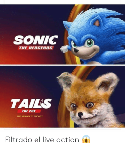 SONIC THE HEDGEHOG TAILS THE FOX THE JOURNEY TO THE HELL Filtrado El