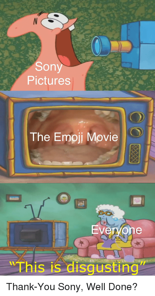 Emoji, Reddit, and Sony: Sony  Pictures  The Emoji Movie  Ever/one  Thi  is is disgusting