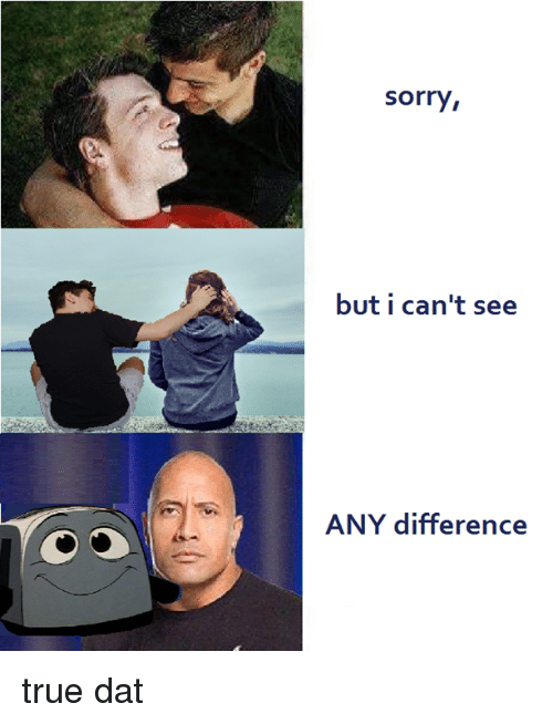 Sorry, True, and Toast: sorry,  but i can't see  ANY difference true dat