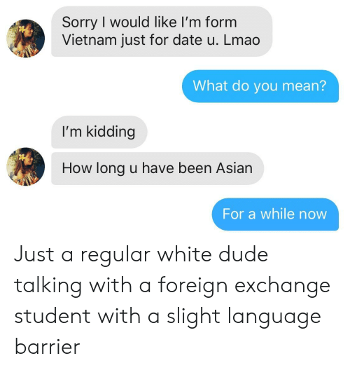 Foreign Exchange Student dating