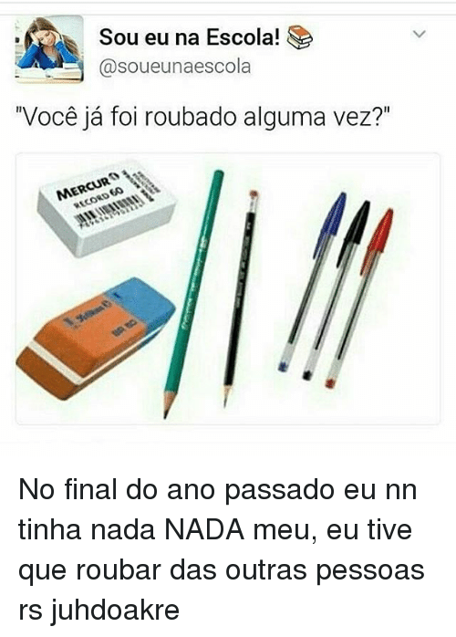 Sou Eu Na Escola Sa A Soueunaescola Mercury No Final Do Ano