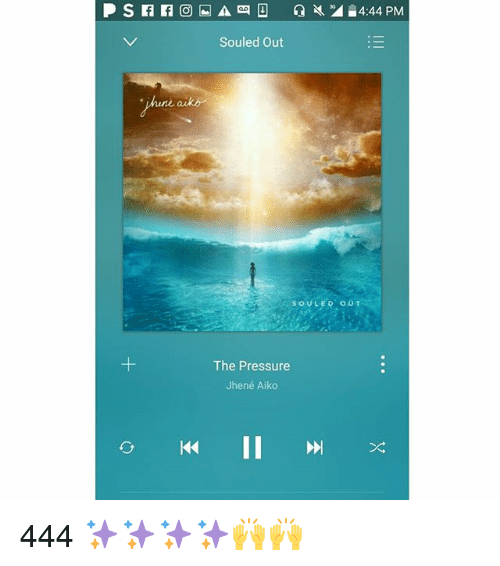 Jhene Aiko, Memes, and Pressure: Souled out  une ark  The Pressure  Jhene Aiko  KK II 444 ✨✨✨✨🙌🙌