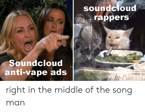 Soundcloud Rappers Soundcloud Anti-Vape Ads Right in the