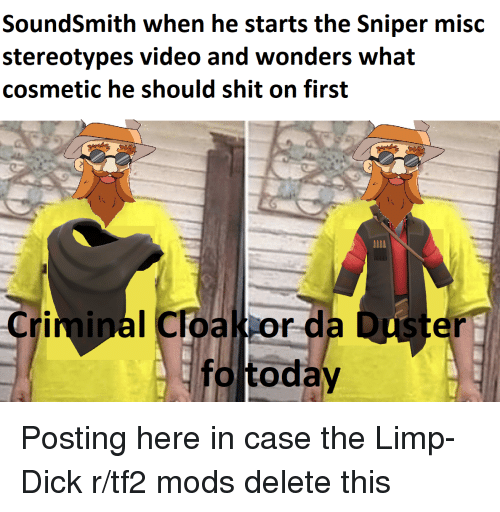 SoundSmith When He Starts the Sniper Misc Stereotypes Video