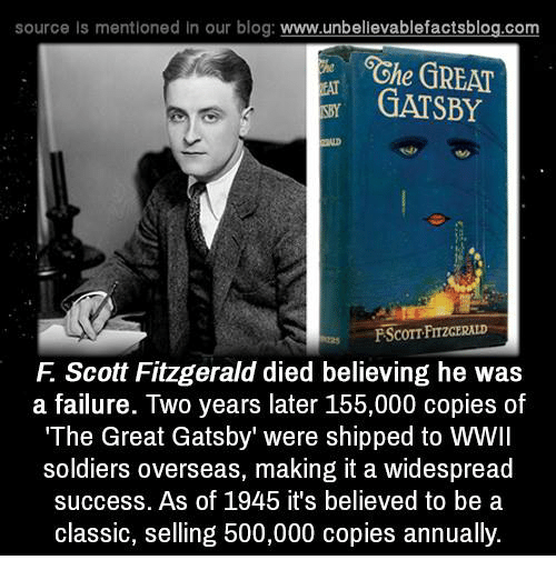 source is mentioned in our blog www unbelievablefactsblog com 6ghe great gatsby 5826249 25 best great gatsby memes captioning memes, the memes, lines memes