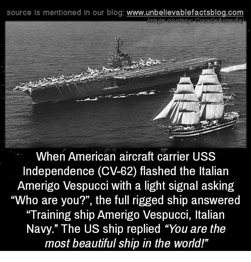 Source Is Mentioned in Our Blog Wwwunbelievablefactsblogcom When American Aircraft Carrier USS ...