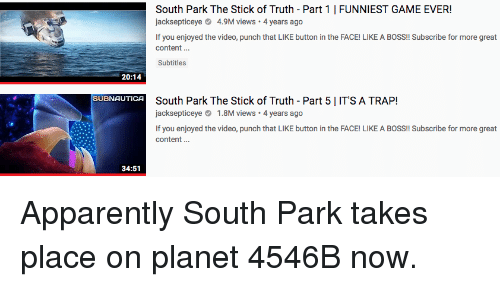 Image of: Shan Boody Apparently South Park And Trap South Park The Stick Of Truth Part Meme South Park The Stick Of Truth Part Funniest Game Ever