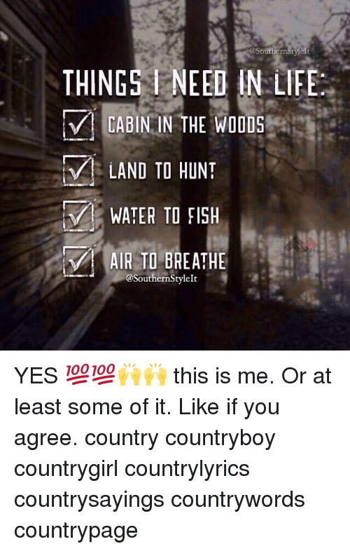 25 Best Memes About Country Music Lyrics Hunting Fishing And