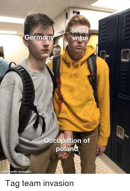 Soviet Union German Ie Occupation of Polan Made With Mematic
