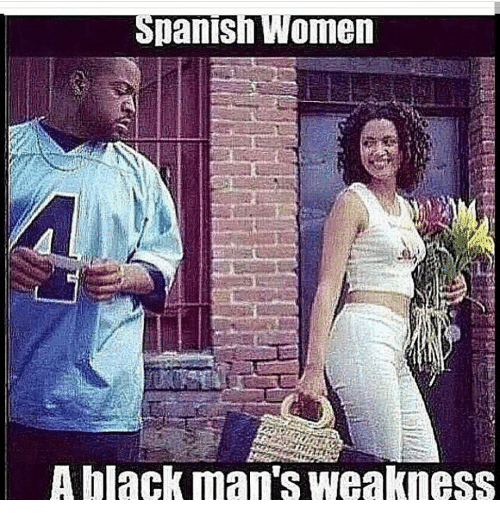 Spanish women looking for black men