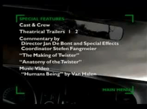 SPECIAL FEATURES Cast & Crew Theatrical Trailers 12