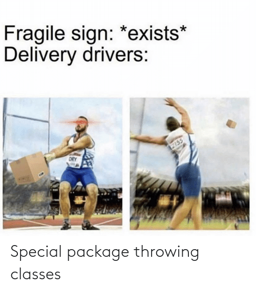 Package, Throwing, and Special: Special package throwing classes
