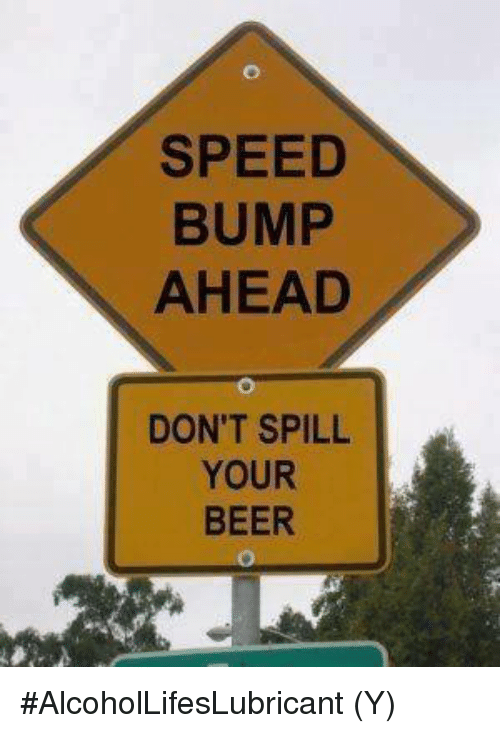 Image result for beer bump