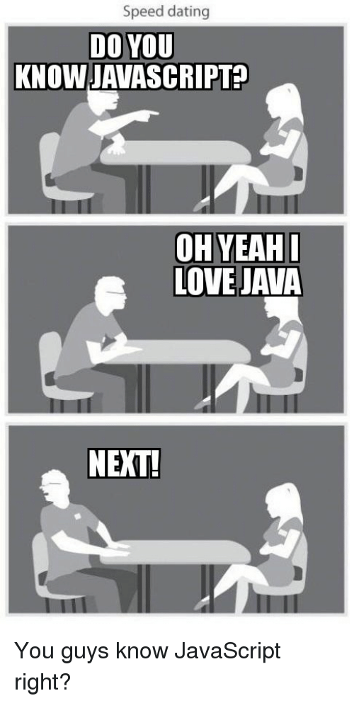 Javascript dating
