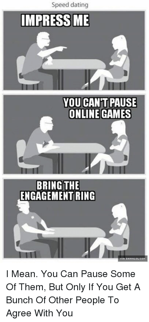 Speed dating mean