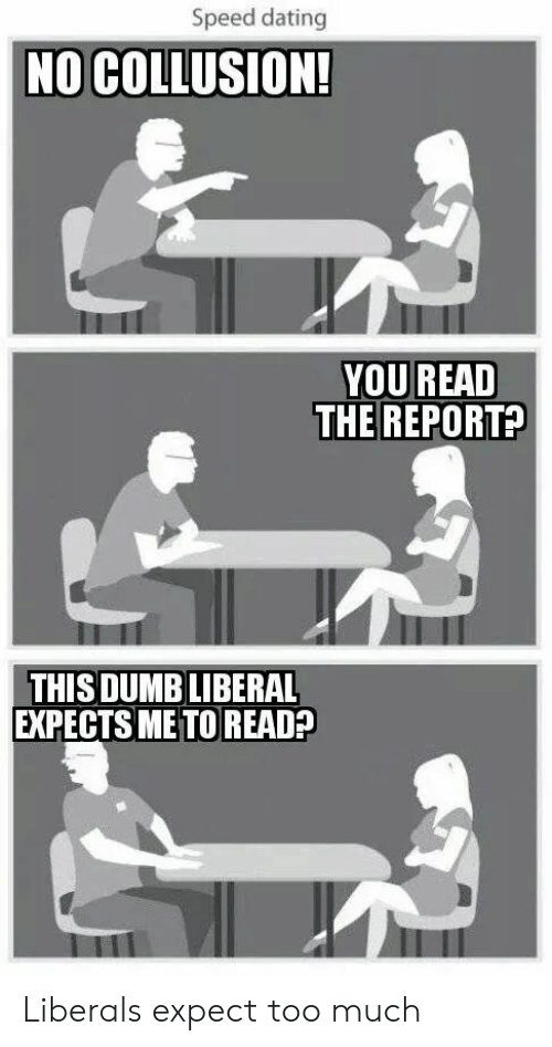 political speed dating