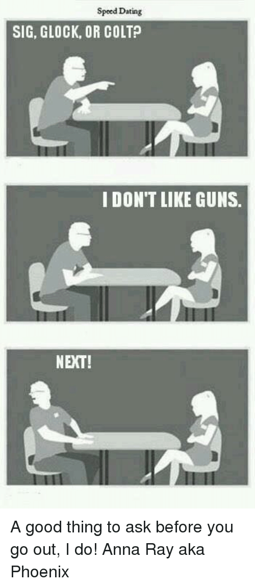 Glock dating