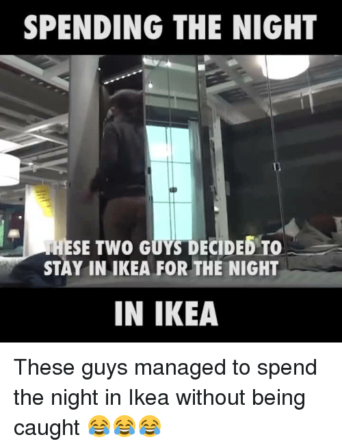 spending the night hese two guys decided to stay in 3467364 ✅ 25 best memes about ikea ikea memes