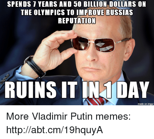 spends years and 50 billion dollars on the olympics to 19755176 ✅ 25 best memes about putin memes putin memes,Memes De Putin