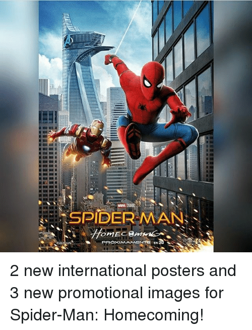 Memes Spider And SpiderMan SPIDER MAN PROXIMAMENTO CN3D 2 New International Posters