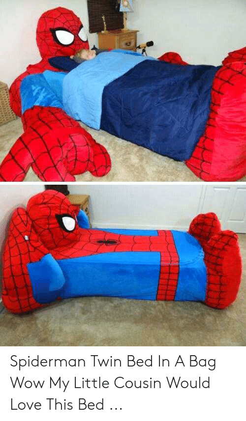 Spiderman Twin Bed In A Bag Wow My Little Cousin Would Love