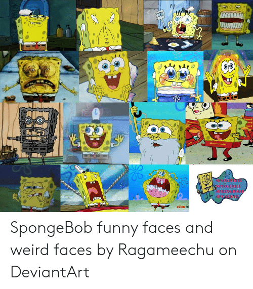 Weird Funny Pictures From Spongebob 7