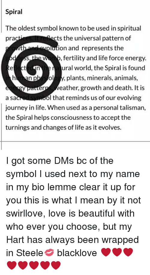 Spiral The Oldest Symbol Known To Be Used In Spiritual Cts The
