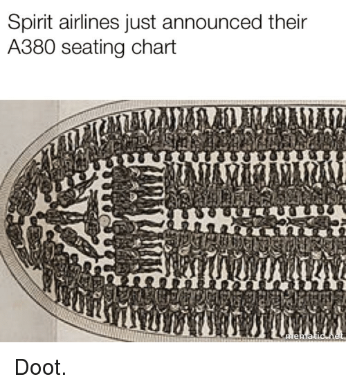 Spirit Airlines Just Announced Their A380 Seating Chart