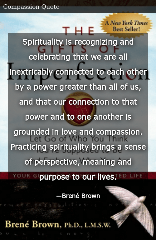 Spirituality Is Recognizing and Celebrating That We Are All