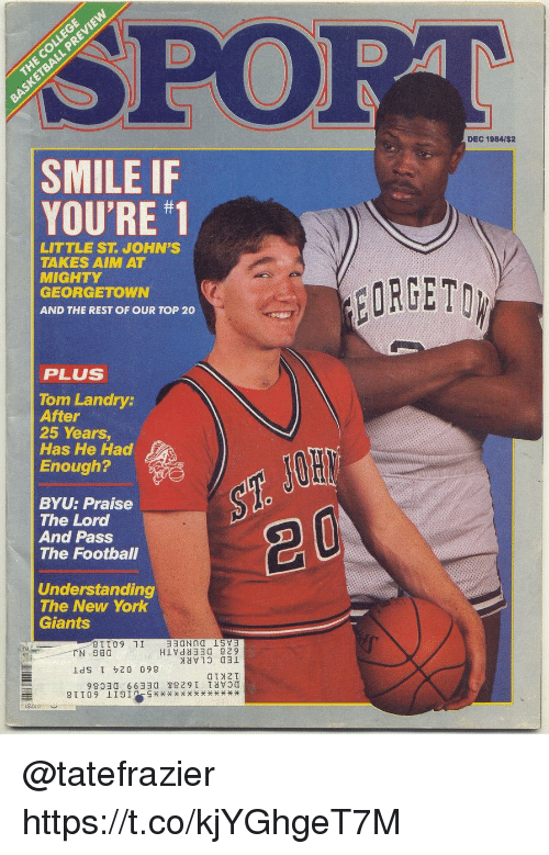 Spo Dec 1984i2 Smile If Youre 1 Little St Johns Takes Aim At