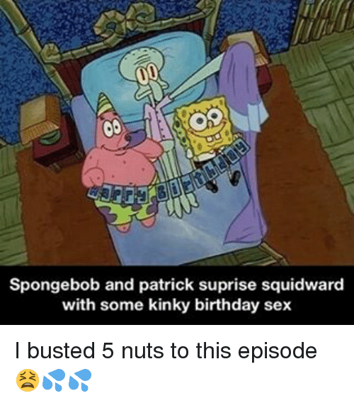 Spongebob and patrick have sex
