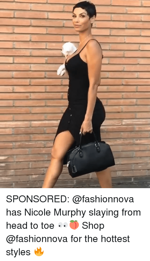 Head, Memes, and 🤖: SPONSORED: @fashionnova has Nicole Murphy slaying from head to toe 👀🍑 Shop @fashionnova for the hottest styles 🔥