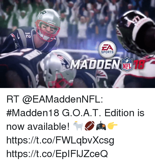 Home Market Barrel Room Trophy Room ◀ Share Related ▶ memes NFL sports 🤖 now g o a t edition Oing Sportsing Sports Interview Slipping The Internets next RT @EAMaddenNFL: #Madden18 G.O.A.T. Edition is now available! 🐐🏈🎮👉 https://t.co/FWLqbvXcsg https://t.co/EpIFlJZceQ collect meme → Embed it next → SPORTS ADDEN NFL RT @EAMaddenNFL #Madden18 GOAT Edition is now available! 🐐🏈🎮👉 httpstcoFWLqbvXcsg httpstcoEpIFlJZceQ Meme memes NFL sports 🤖 now g o a t edition oing Sportsing memes memes NFL NFL sports sports 🤖 🤖 now now g o a t g o a t edition edition None None Sportsing Sportsing found ON 2017-08-28 10:27:47 BY me.me source: twitter view more on me.me