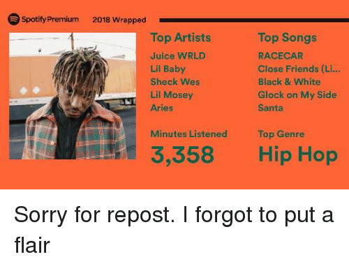 Spotify wrapped 2019 website