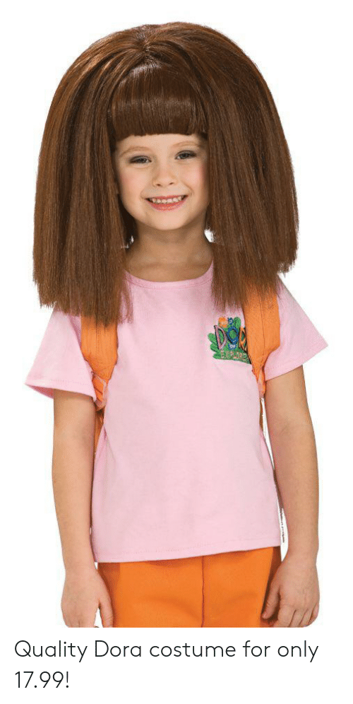 SPOW Quality Dora Costume for Only 1799!