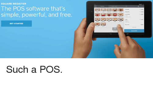 SQUARE REGISTER the POS Software That's Simple Powerful and Free GET